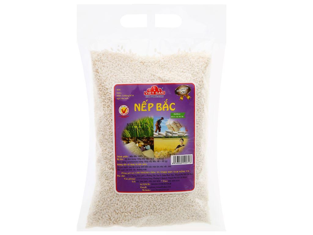 Nếp Bắc Việt San túi 1kg 5