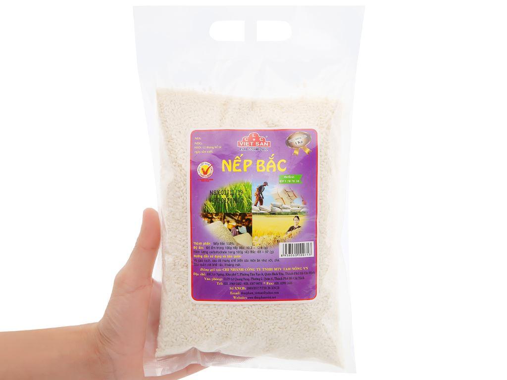 Nếp Bắc Việt San túi 1kg 8