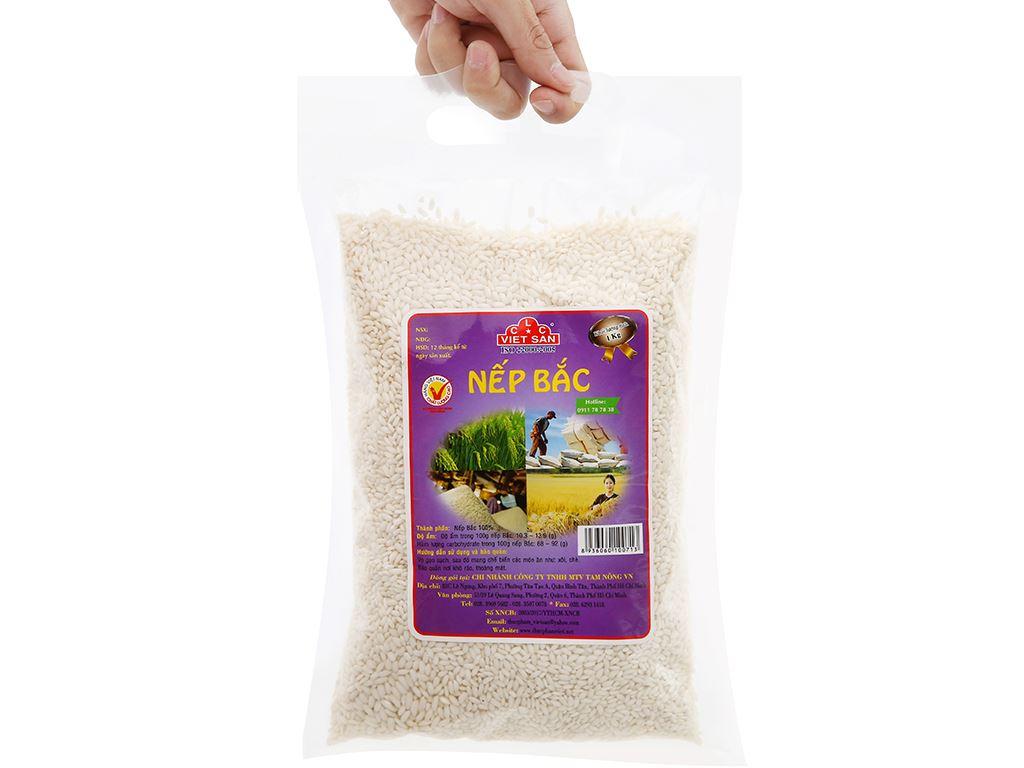 Nếp Bắc Việt San túi 1kg 10