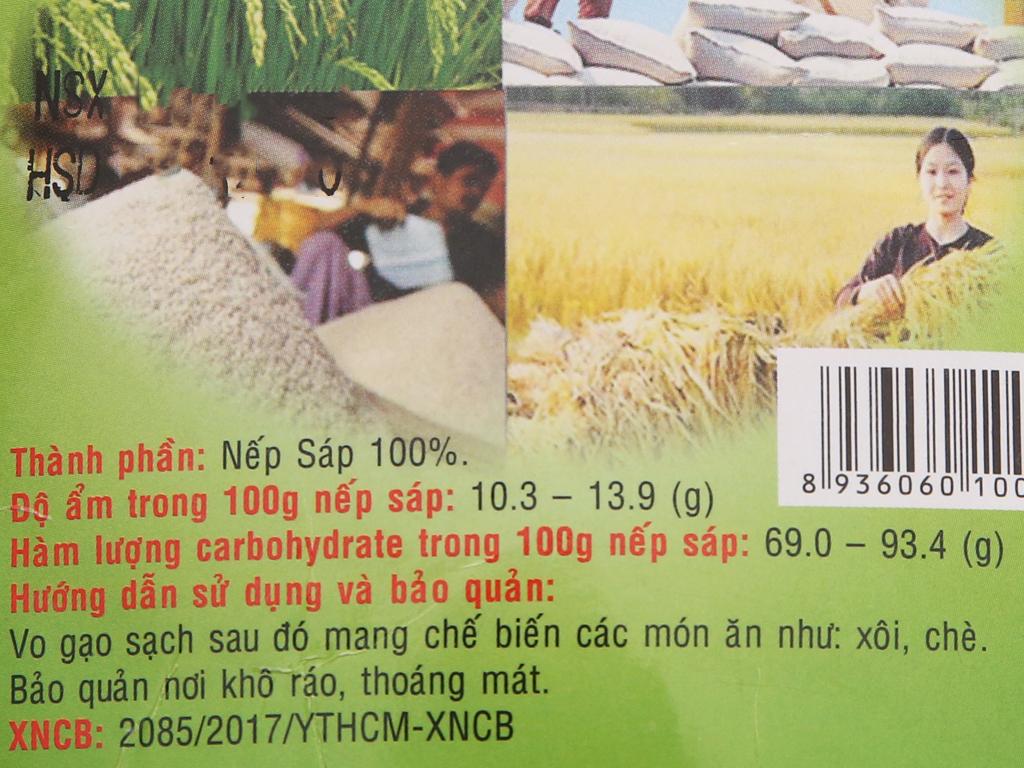 Nếp sáp Việt San túi 1kg 4
