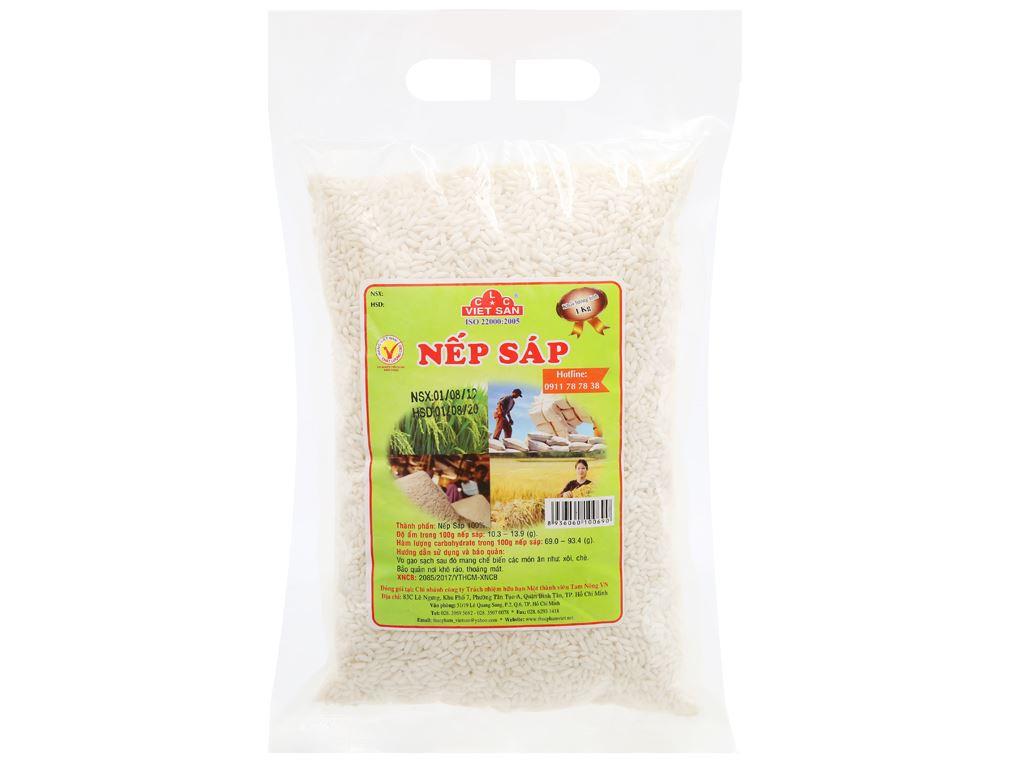 Nếp sáp Việt San túi 1kg 5