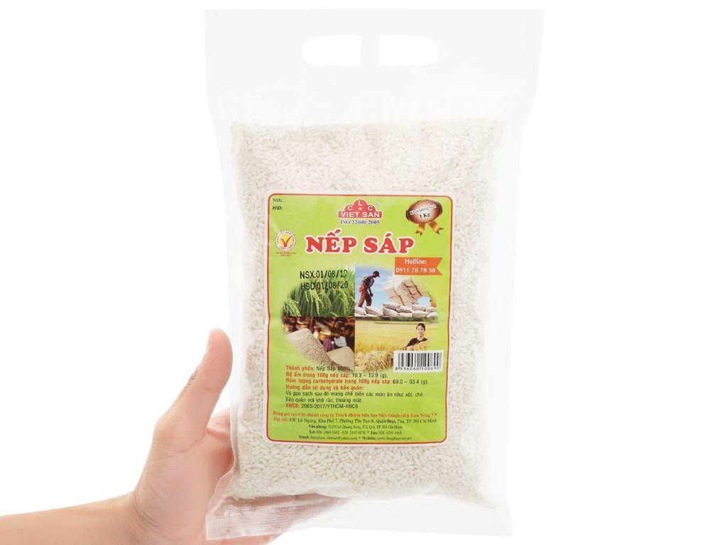 Nếp sáp Việt San túi 1kg 8