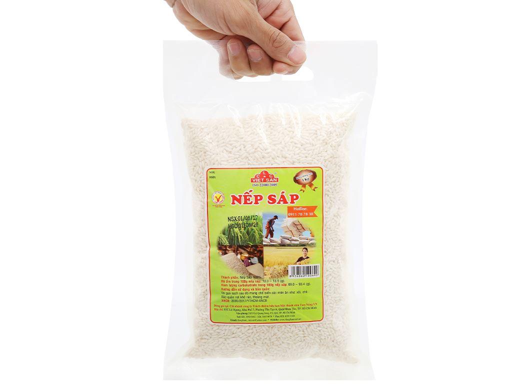 Nếp sáp Việt San túi 1kg 10