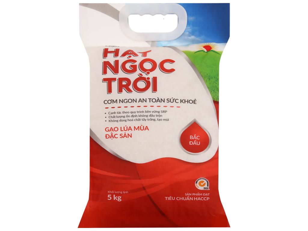 Gạo Hạt ngọc trời Bắc Đẩu túi 5kg 1