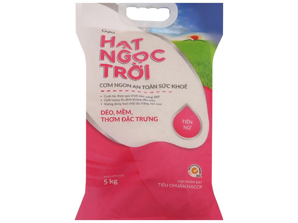 Gạo Hạt ngọc trời Tiên Nữ túi 5kg 1