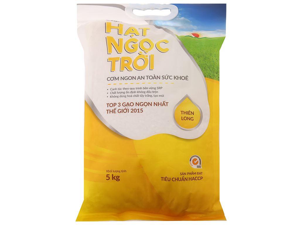 Gạo Hạt Ngọc Trời Thiên Long túi 5kg 1