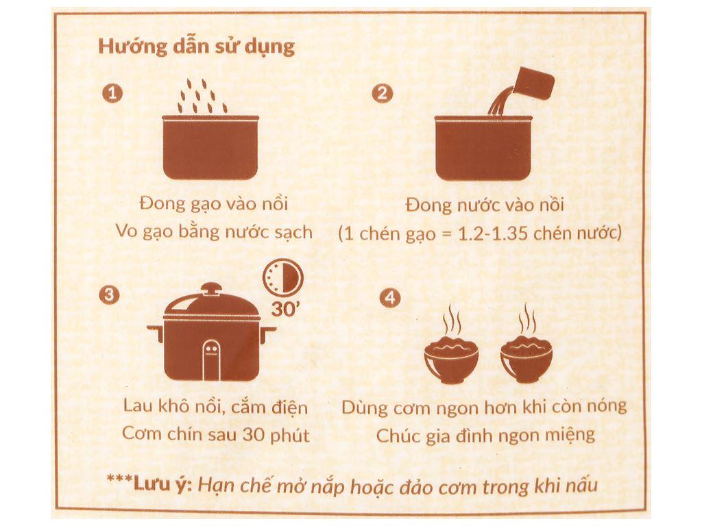 Gạo Hạt Ngọc Trời Thiên Long túi 5kg 3