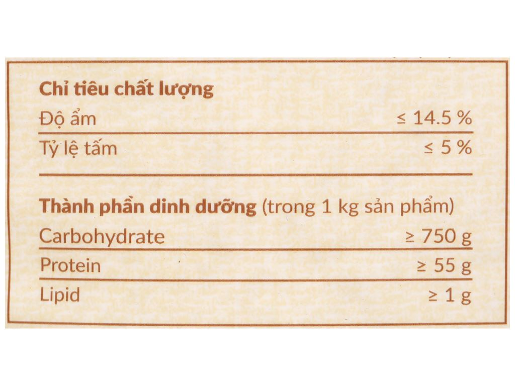 Gạo Hạt Ngọc Trời Thiên Long túi 5kg 4