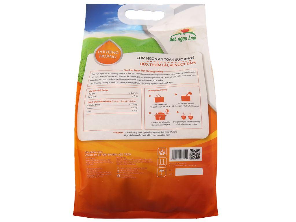 Gạo Hạt Ngọc Trời Phượng Hoàng túi 5kg 2