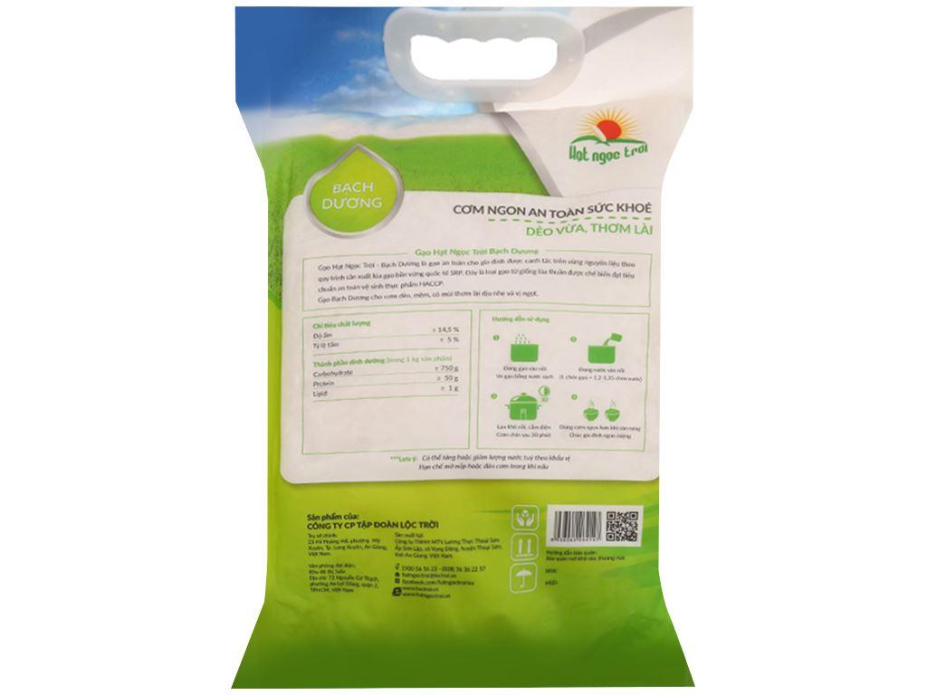Gạo Hạt Ngọc Trời Bạch Dương túi 5kg 2