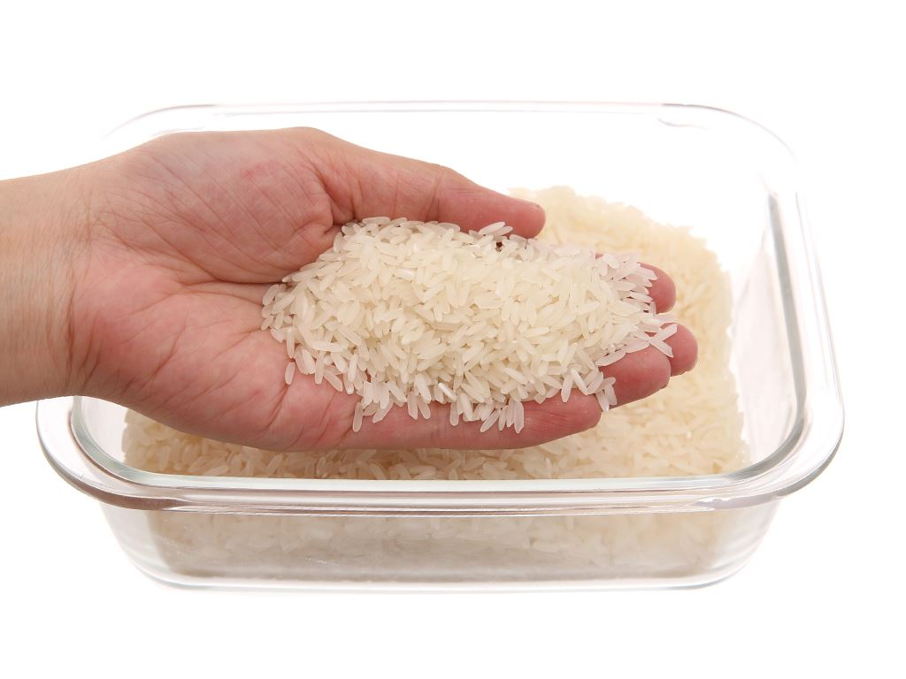 Gạo thơm lài Lotus Rice Jasmine túi 5kg 3