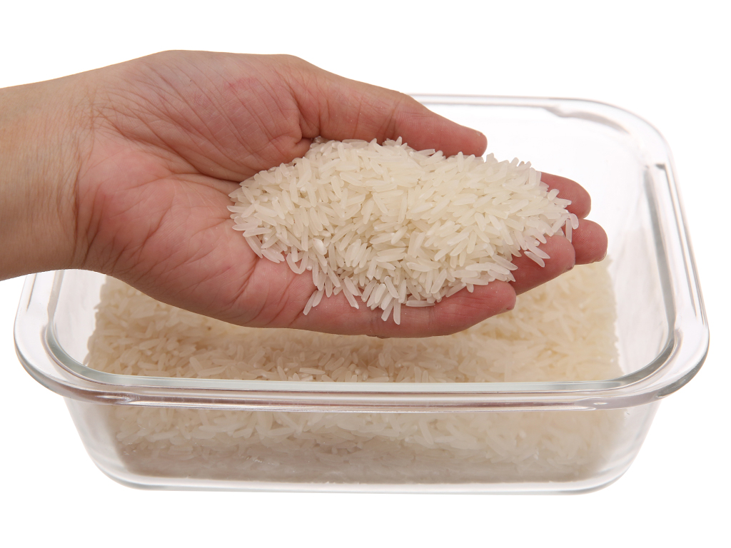 Gạo thơm thượng hạng Lotus Rice Nàng Sen túi 2kg 3