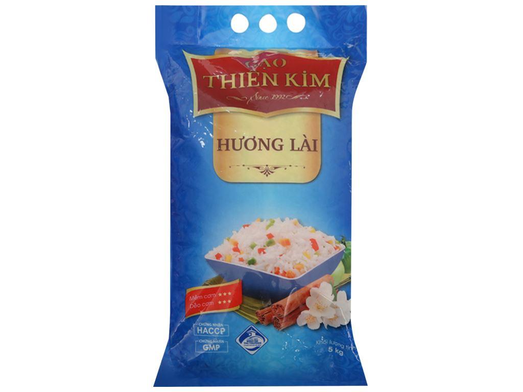 Gạo hương lài Thiên Kim túi 5kg 1