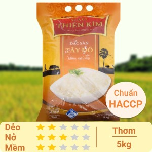 Gạo Thiên Kim Tây Đô túi 5kg