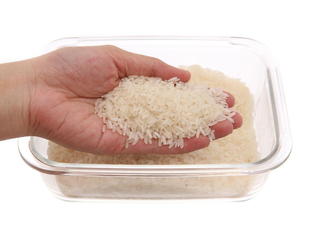Gạo thơm lài Lotus Rice Jasmine túi 2kg 3