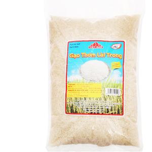 Gạo thơm lài trong Việt San túi 5kg