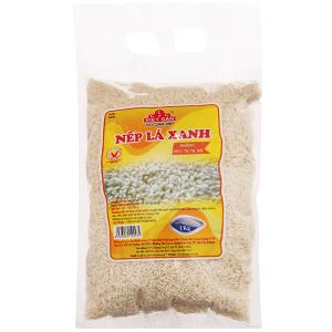 Nếp lá xanh Việt San túi 1kg