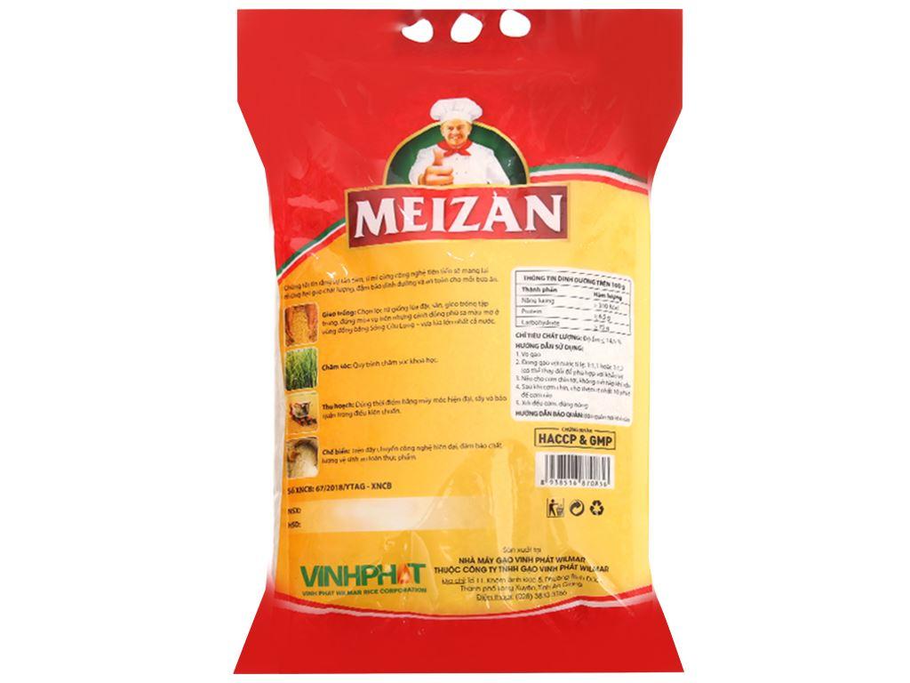 Gạo lài sữa Meizan túi 5kg 3