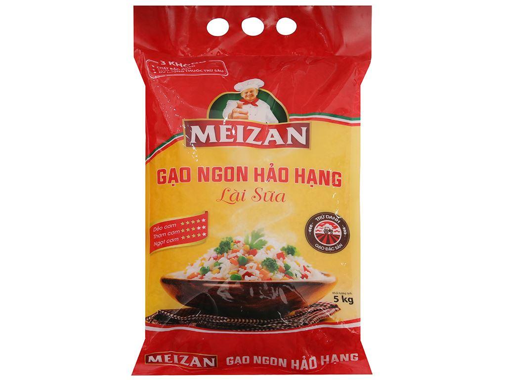 Gạo lài sữa Meizan túi 5kg 2