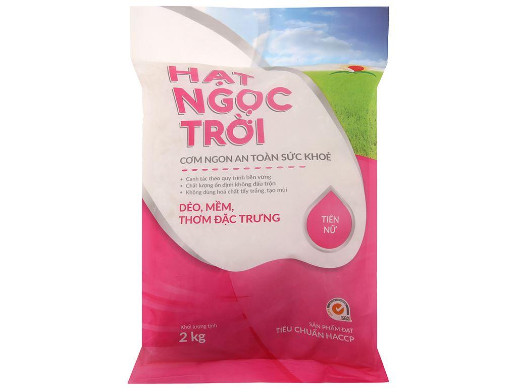 Gạo Hạt Ngọc Trời Tiên Nữ túi 2kg 1