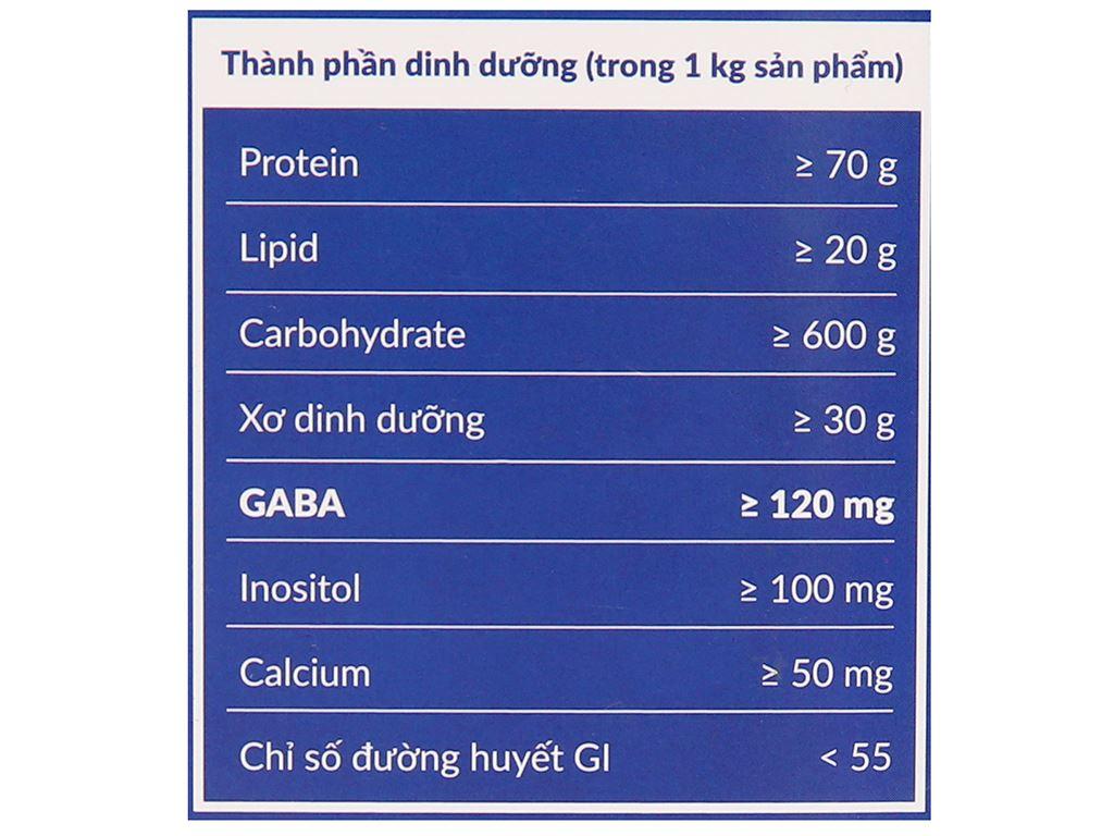 Gạo mầm Vibigaba hộp 1kg 5
