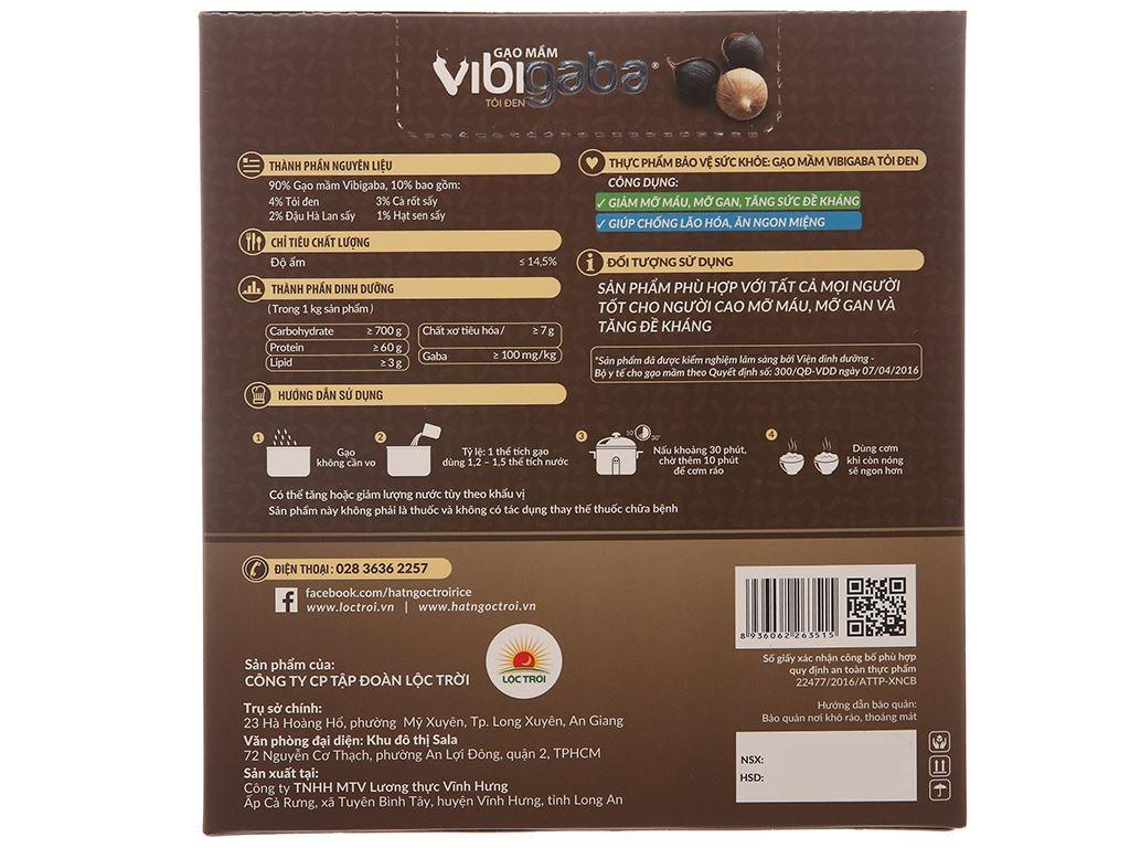 Gạo mầm tỏi đen Vibigaba hộp 0,5kg 2