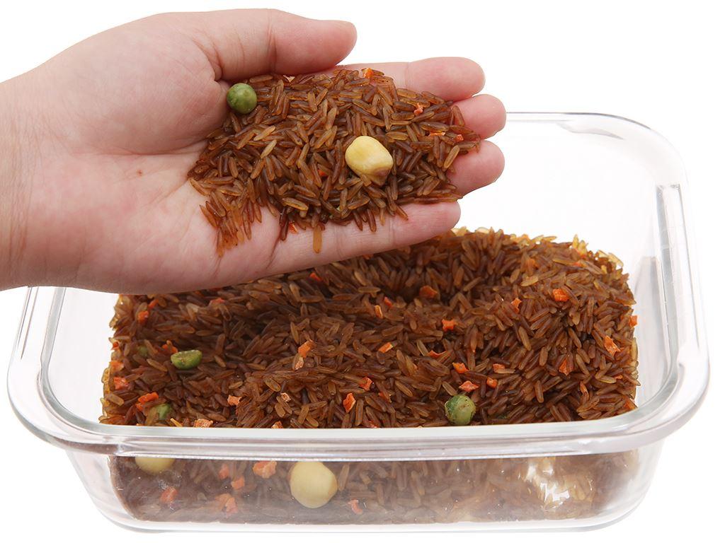 Gạo mầm tỏi đen Vibigaba hộp 0,5kg 3