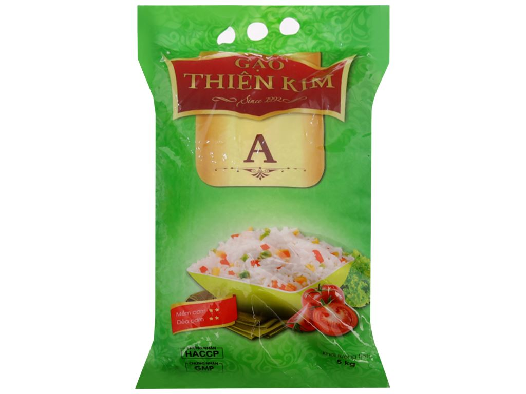 Gạo Thiên Kim A 5kg 1