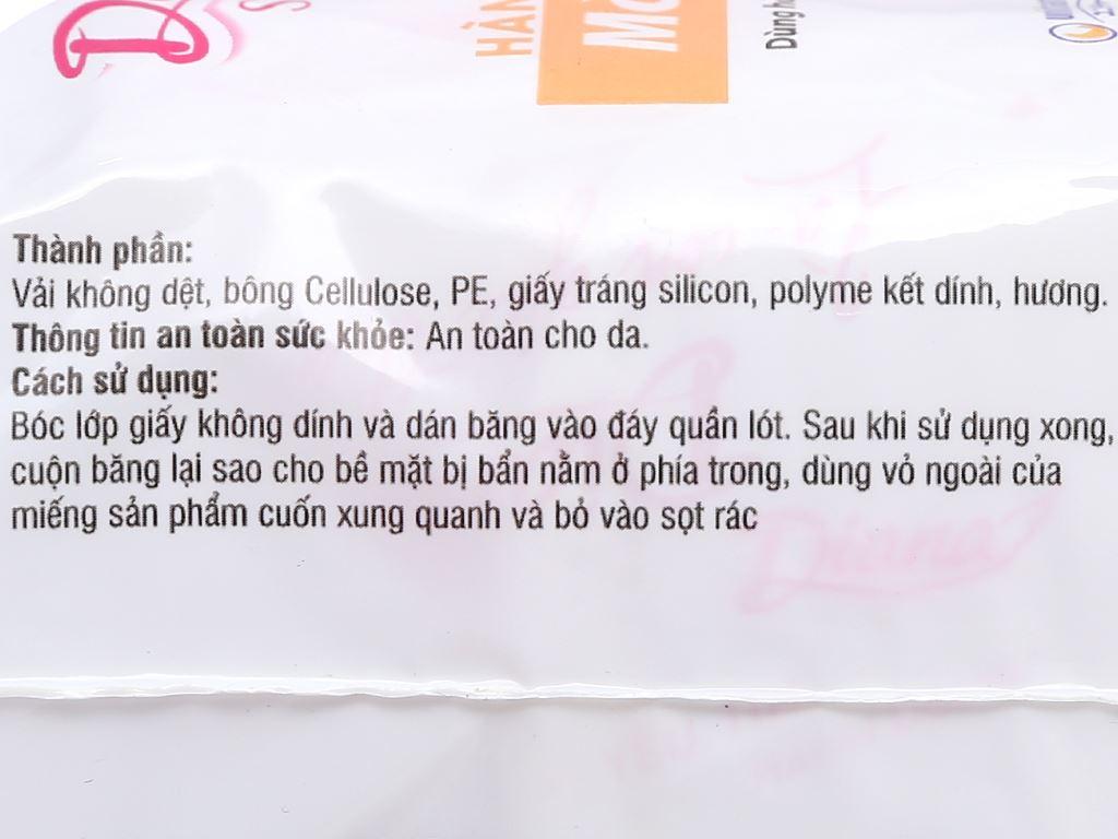 Băng vệ sinh hàng ngày Diana Sensi Slim mỏng nhẹ 20 miếng 10