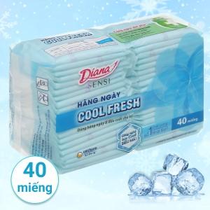 Băng vệ sinh hàng ngày Diana Sensi Cool Fresh 40 miếng