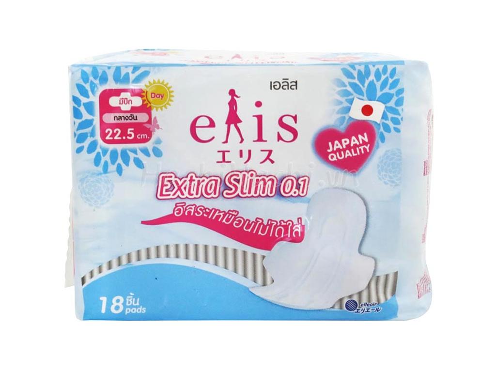 Băng vệ sinh Elis Extra Slim siêu mỏng cánh 18 miếng 1