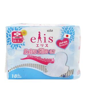 Băng vệ sinh Elis Extra Slim siêu mỏng có cánh 18 miếng