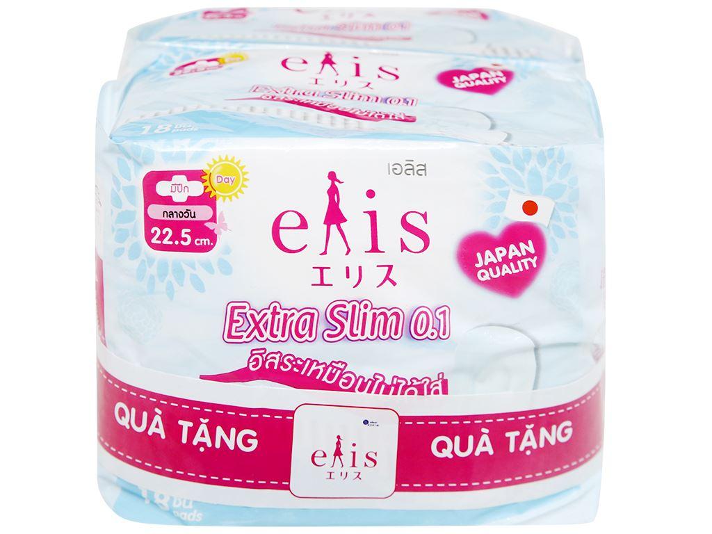 Băng vệ sinh Elis Extra Slim siêu mỏng cánh 18 miếng 4