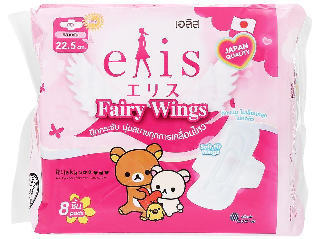 Băng vệ sinh Elis Fairy Wings siêu thấm có cánh 8 miếng 22.5cm 6