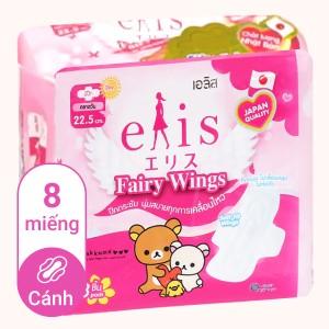 Băng vệ sinh Elis Fairy Wings siêu thấm có cánh 8 miếng 22.5cm