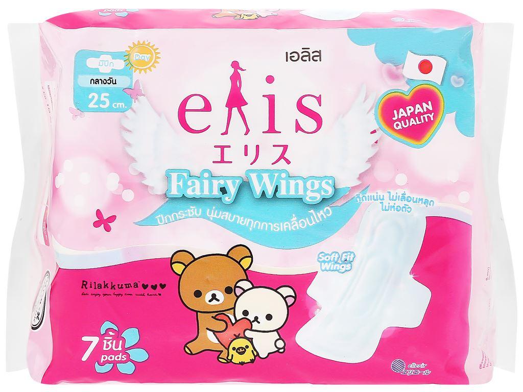 Băng vệ sinh Elis Fairy Wings siêu thấm chống tràn có cánh 7 miếng 6