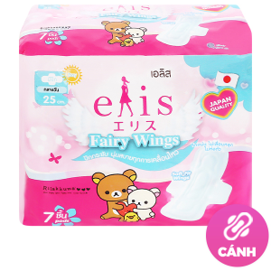 Băng vệ sinh Elis Fairy Wings siêu thấm có cánh 7 miếng 25cm