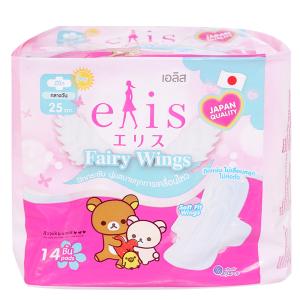 Băng vệ sinh Elis Fairy Wings siêu thấm chống tràn có cánh 14 miếng