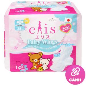 Băng vệ sinh Elis Fairy Wings siêu thấm có cánh 14 miếng 25cm