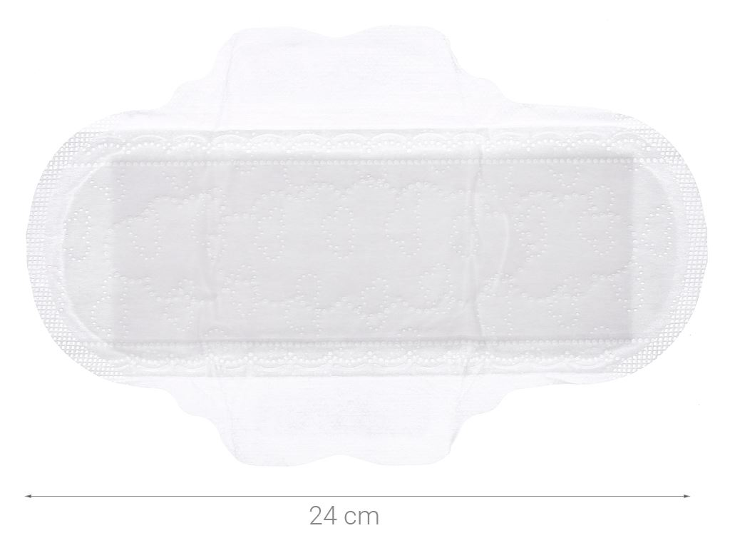Băng vệ sinh Whisper Skin Love siêu thấm siêu mỏng có cánh 18 miếng 4