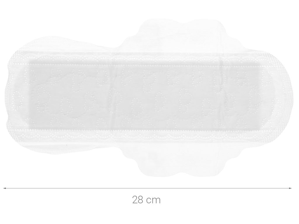 Băng vệ sinh Whisper Skin Love siêu thấm siêu mỏng cánh 8 miếng 4