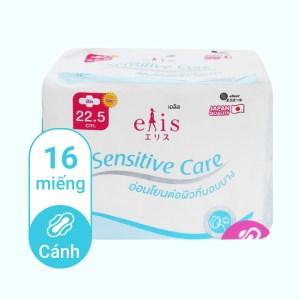 Băng vệ sinh Elis Sensitive Care có cánh 16 miếng