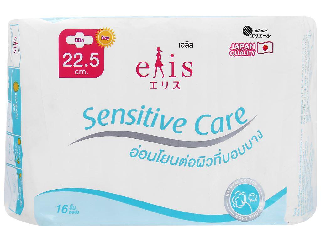 Băng vệ sinh Elis Sensitive Care có cánh 16 miếng 5