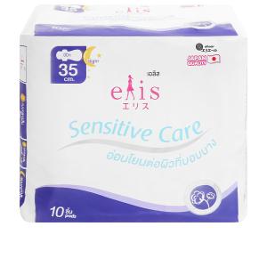 Băng vệ sinh ban đêm Elis Sensitive Care 10 miếng