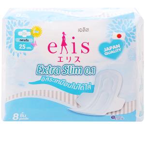 Băng vệ sinh Elis Extra Slim siêu mỏng cánh 8 miếng