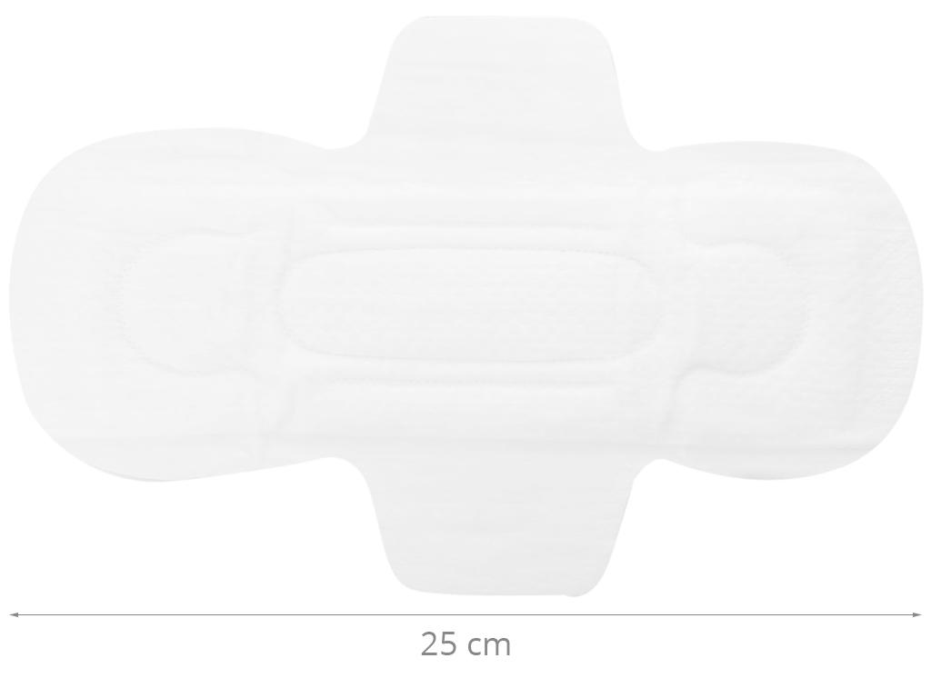 Băng vệ sinh Elis Extra Slim 0.1 siêu mỏng cánh 8 miếng 25cm 10