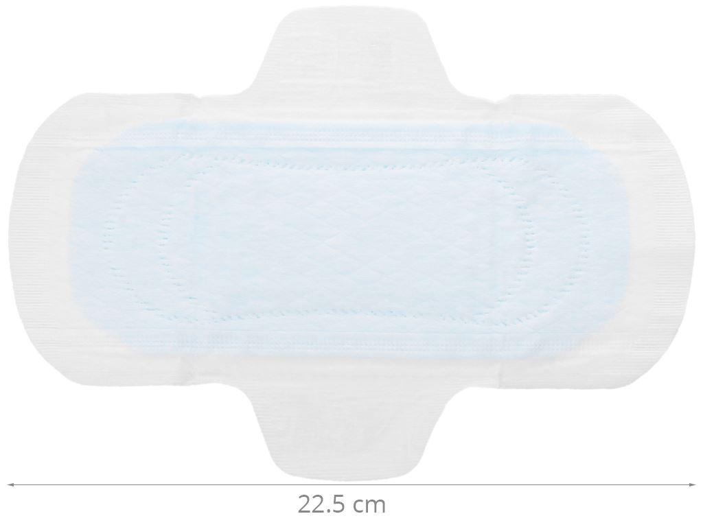 Băng vệ sinh Laurier Super Slimguard Cool siêu siêu mỏng có cánh 8 miếng 4