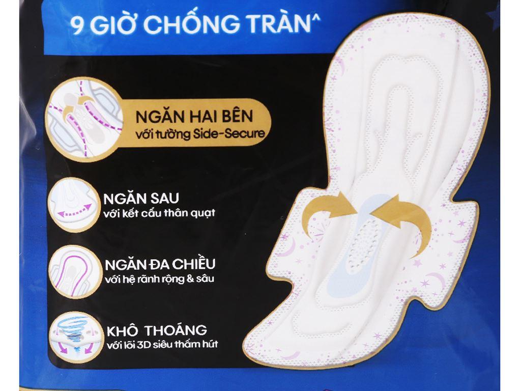 Băng vệ sinh ban đêm Kotex Style chống tràn 8 miếng 5