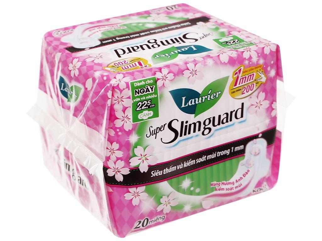 Laurier Super Slimguard hoa anh đào 20 miếng 22.5cm 7