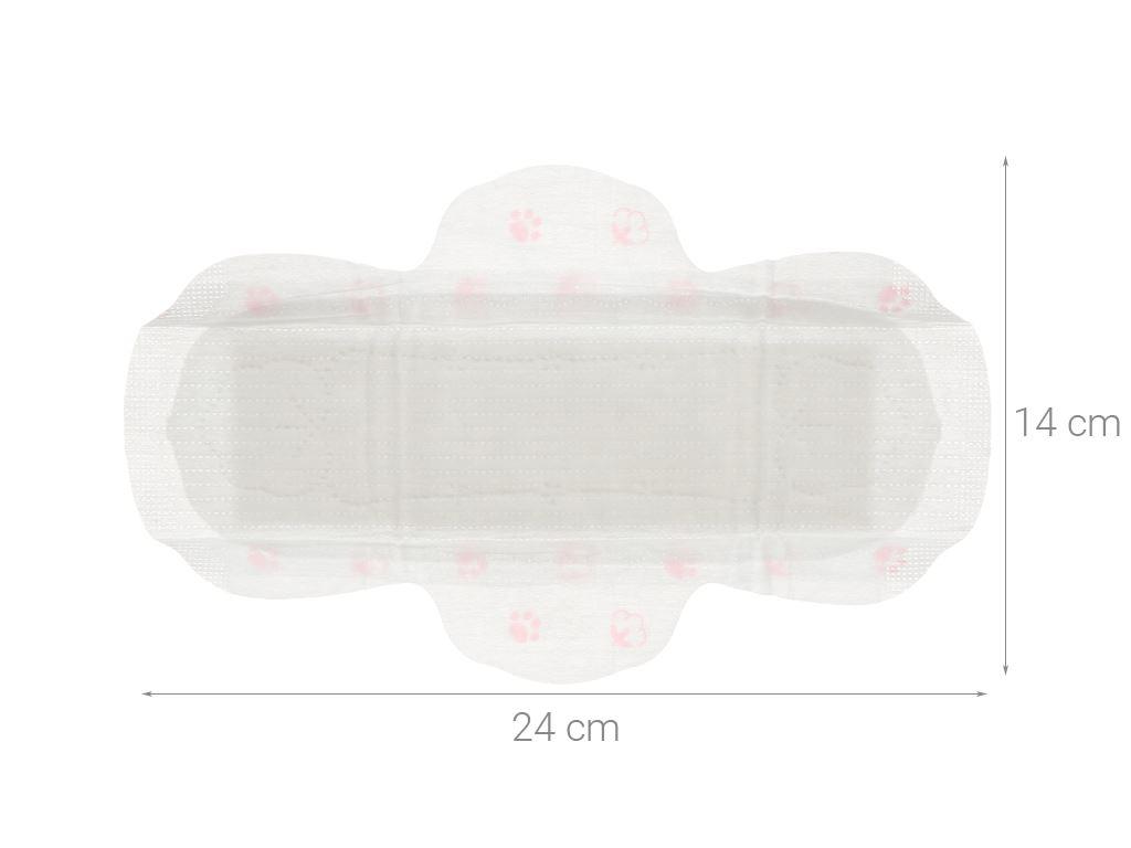 Băng vệ sinh, tampon Kotex Mini Meow siêu mềm 8 miếng 5